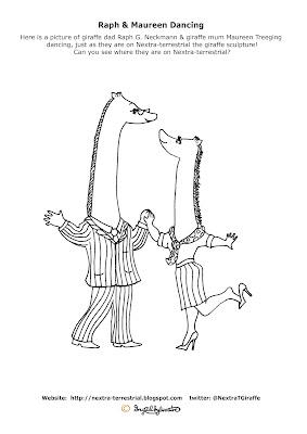 Raph G. Neckmann & Maureen Treeging - Ingrid Sylvestre - Giraffe Colouring Pictures