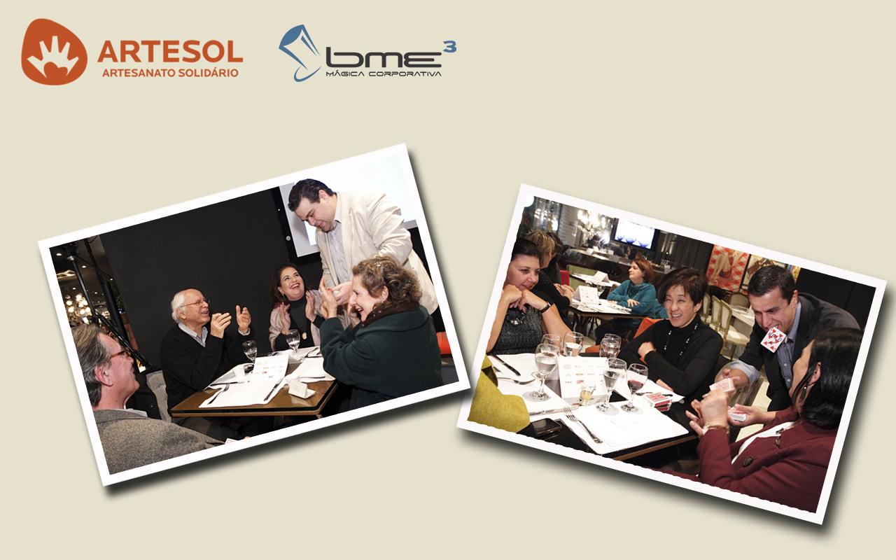 Corporativa: BME3 é a atração no jantar da ArteSol na Casa Cor 2011 #AE441D 1280x800