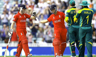 England reach Champions Trophy final 2013