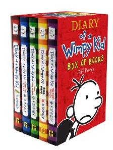 Amazon: Diary Of A Wimpy Kid Box Set 41% Off