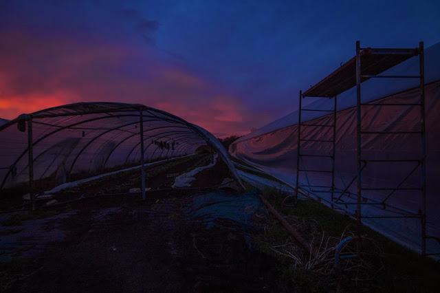 le lever du jour sur les serres