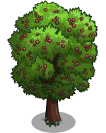 02 FarmVille Unreleased Trees : Service Tree & Wild Service Tree