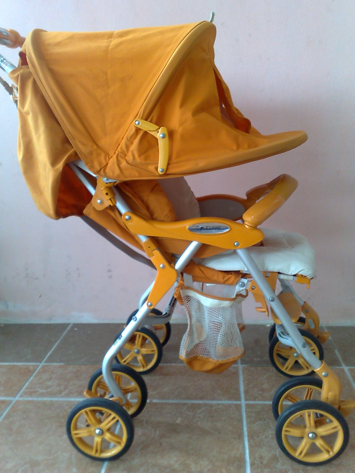 Pu3 Store @~Sold Item~@: Orange Combi Stroller