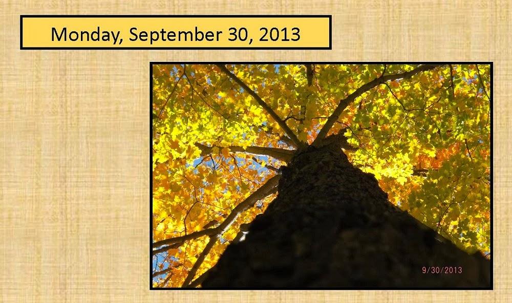 Monday, September 30, 2013