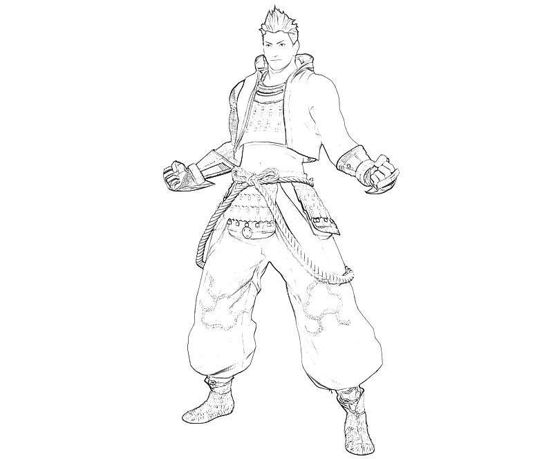 printable-ieyasu-tokugawa-character-coloring-pages