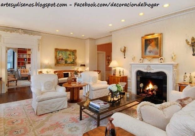 Decoraci n del hogar dise o de interiores c mo decorar - Decoracion con chimeneas ...