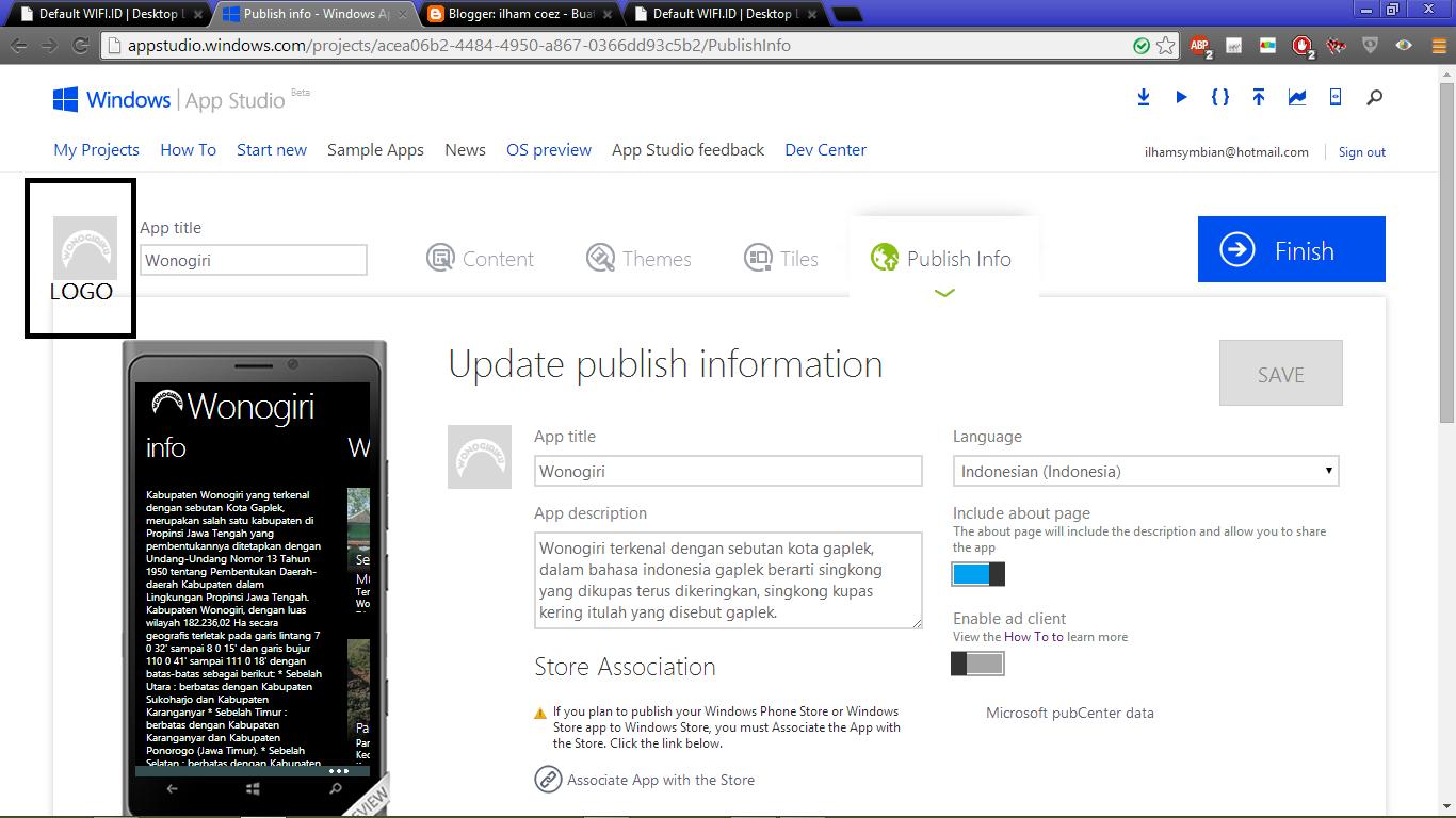 cara membuat aplikiasi windows phone dengan aplikasi windows phone ...
