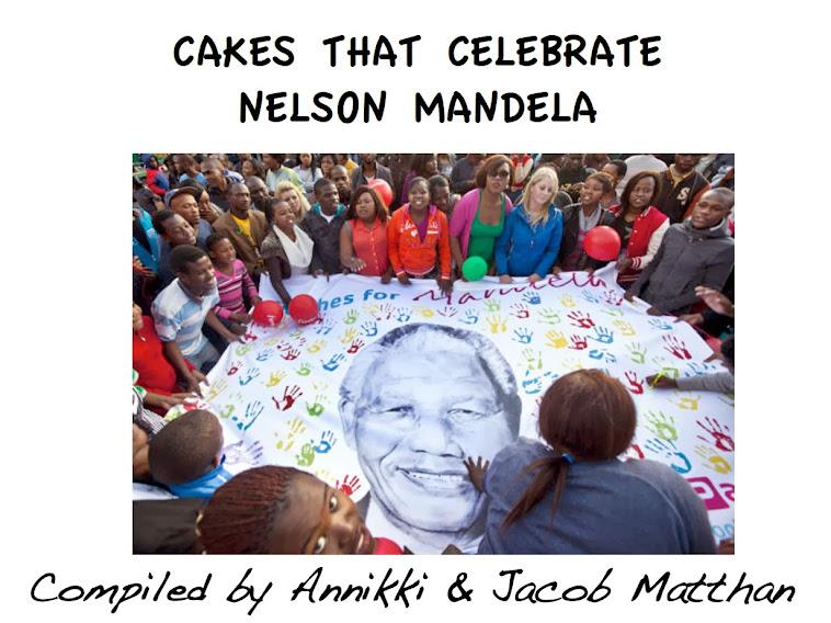 Cakes that Celebrate Nelson Mandela