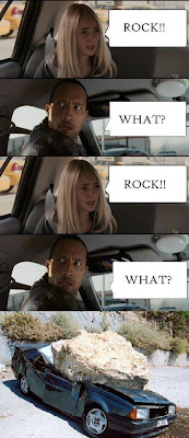 The Rock Trolled