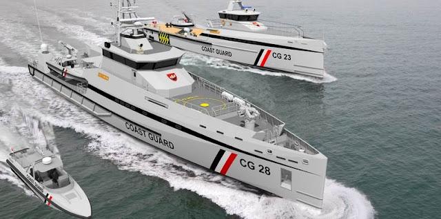 Damen Coast Guard vessels