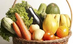 Não deixe de comer frutas, vegetais, legumes e grãos!