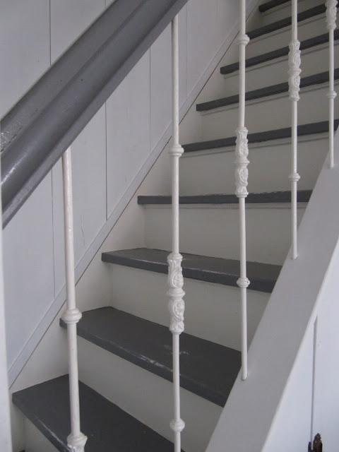 Fort lapin opendag in de opkamer en meer - Witte trap grijs ...