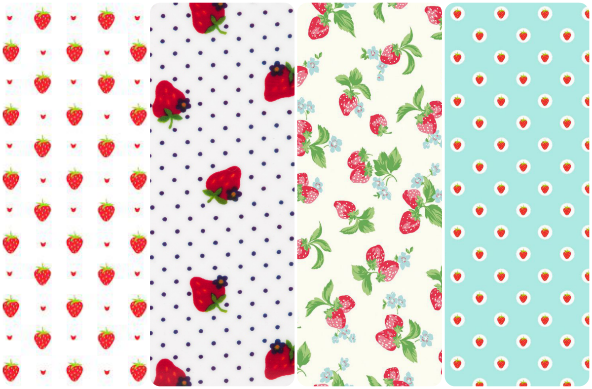 fondo de pantalla whatsapp watermelon strawberries fresas pattern texture wallpaper iphone