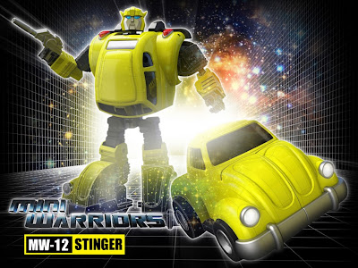 "iGear MW-12 ""Stinger"" [Bumblebee] Transformers 3rd Party Figure"