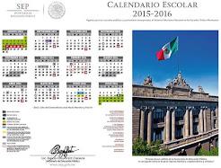 Calendario escolar 2015-2016 SEP