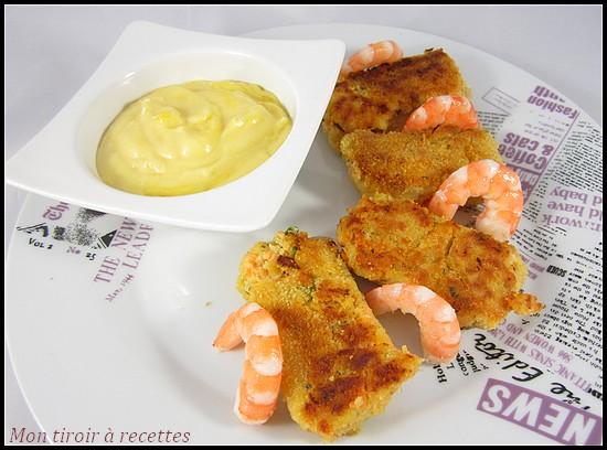 croquettes saumon aïoli