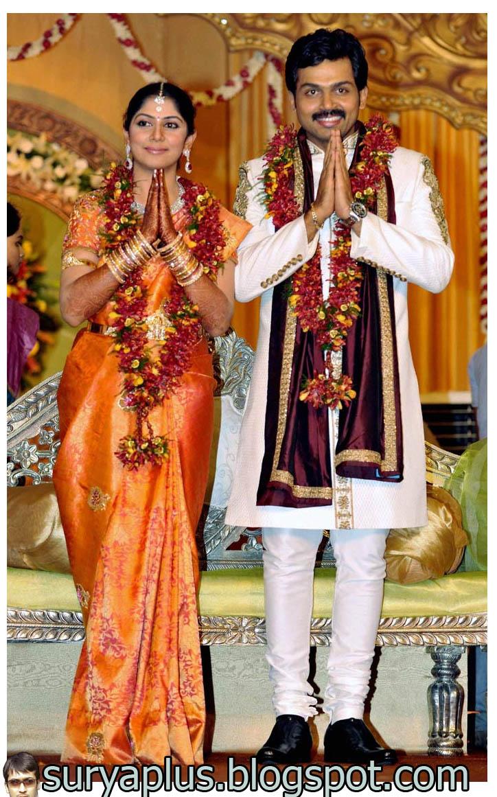 Royal Meridien Karthi Reception At Royal Meridien