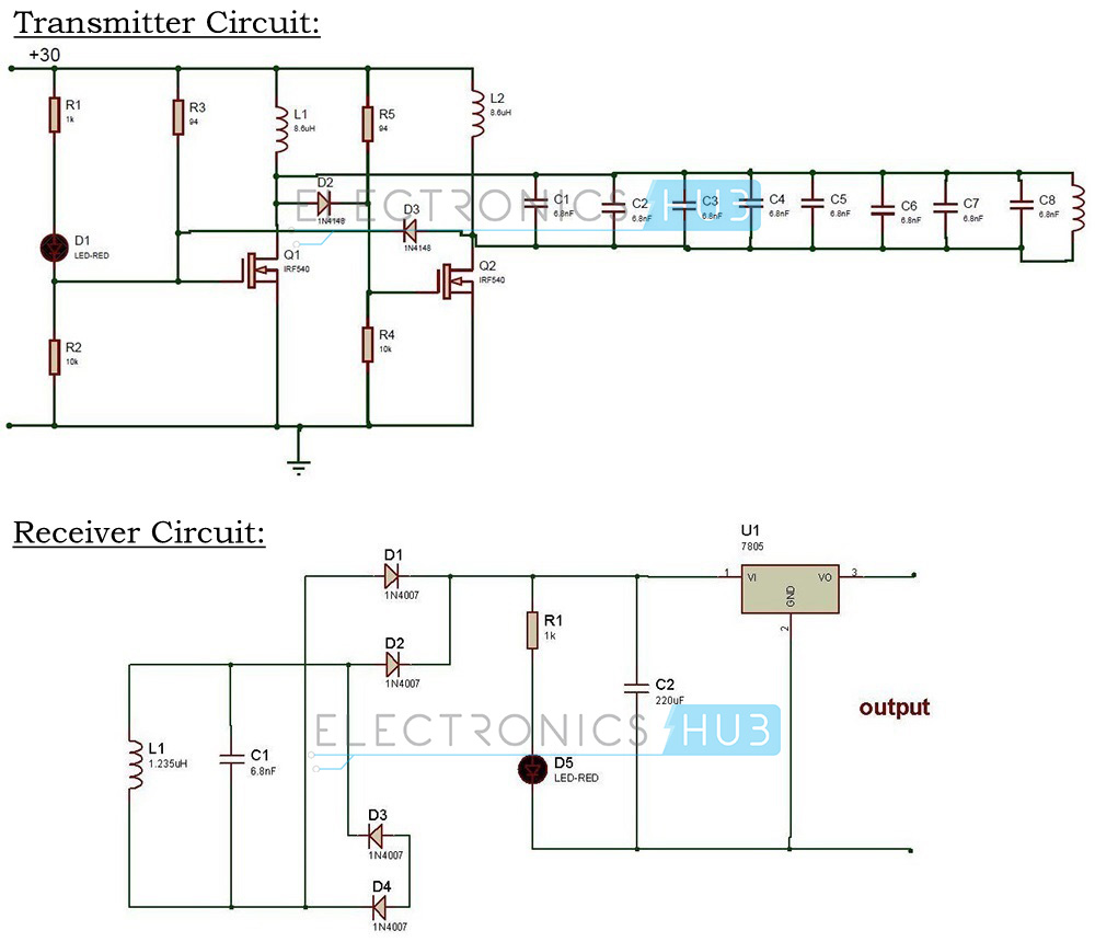 Project 2 Wireless Mobile Battery Charger Circuit Electronics