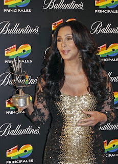 Cher at an awards ceremony in 2010