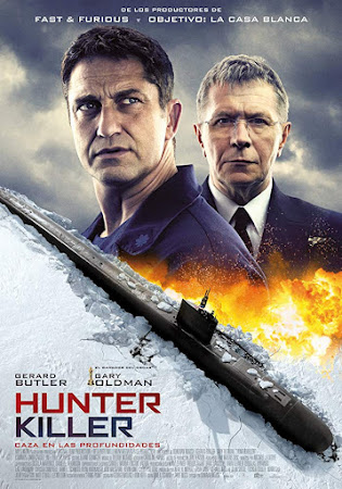 Poster Of Hollywood Film Watch Online Hunter Killer 2018 Full Movie Download Free Watch Online 300MB