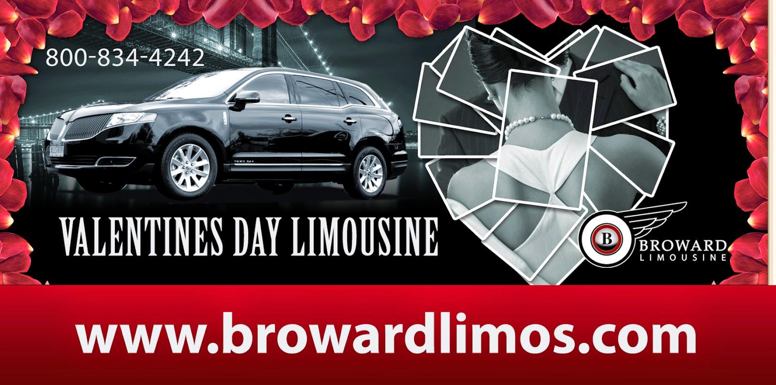 Valentines Day Limousine