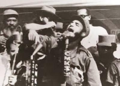 Fidel Castro en Guantánamo