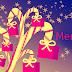 """Świąteczne tła na facebooka - życzenia po angielsku """"Merry Christmas"""""""