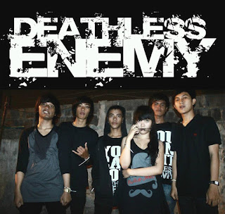Deathless Enemy Band Post Hardcore / Screamo with female vocal Jakarta Indonesia Logo Wallpaper cover album