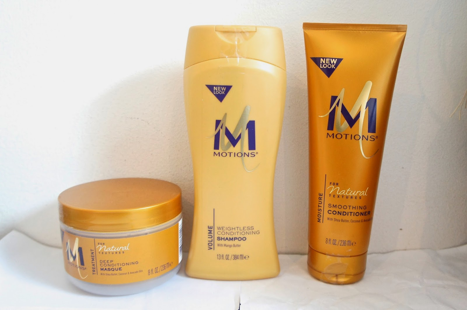 Motions For Natural Textures; Deep Conditioning Masque & Smoothing Conditioner and Motions Weightless Conditioning Shampoo Review & Demo Video
