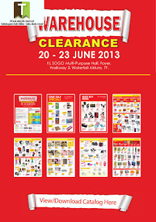 KL SOGO Warehouse Clearance Sale 2013