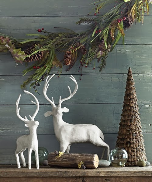 Christmas decoration ideas natural : Natural christmas decorations ideas new design