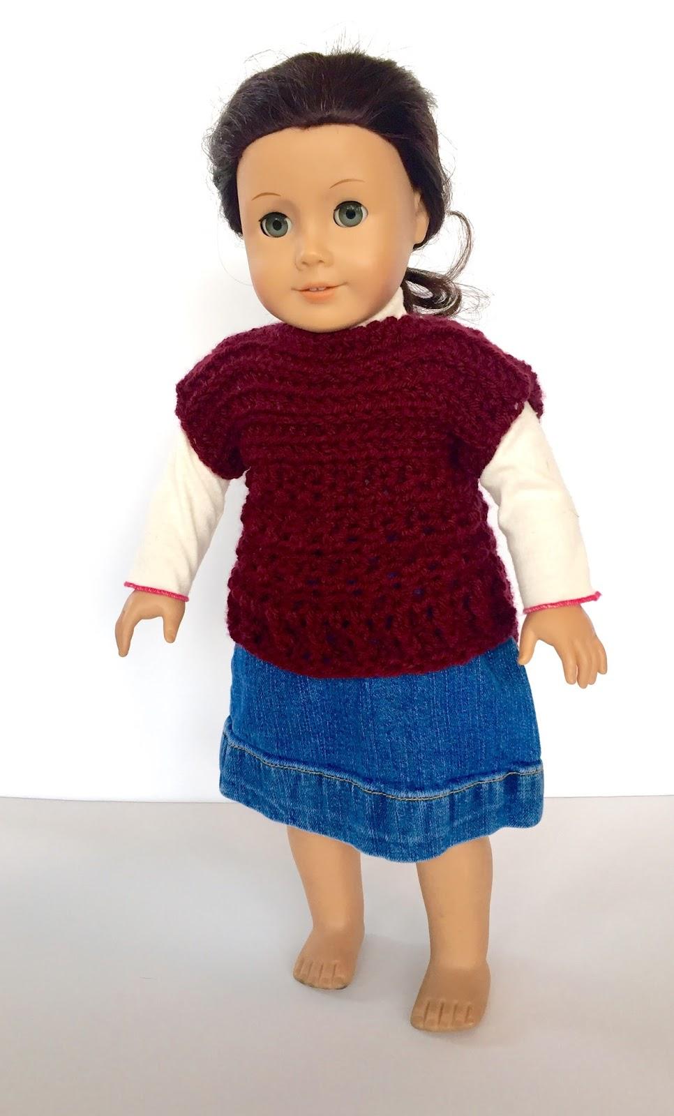 Ruth Pullover Doll Crochet Pattern