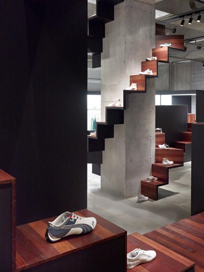 Puma House Tokyo, por Nendo, interiorismo comercial