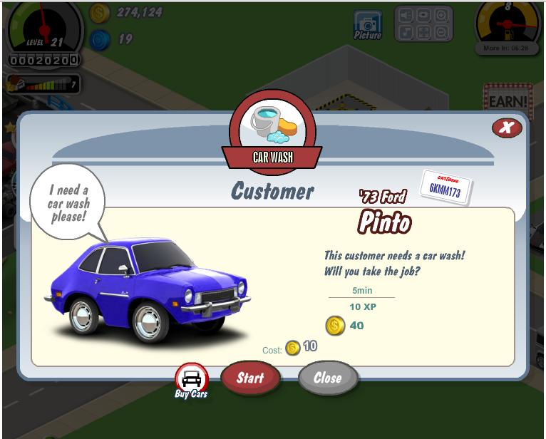 Cheat Coins & level Car Town 2014 Terbaru