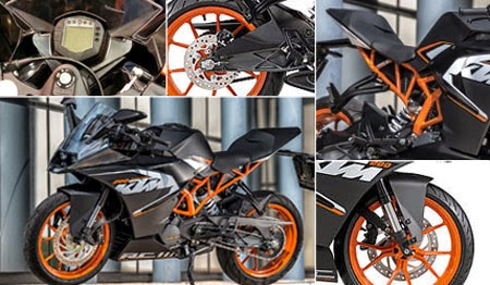 Review KTM RC200
