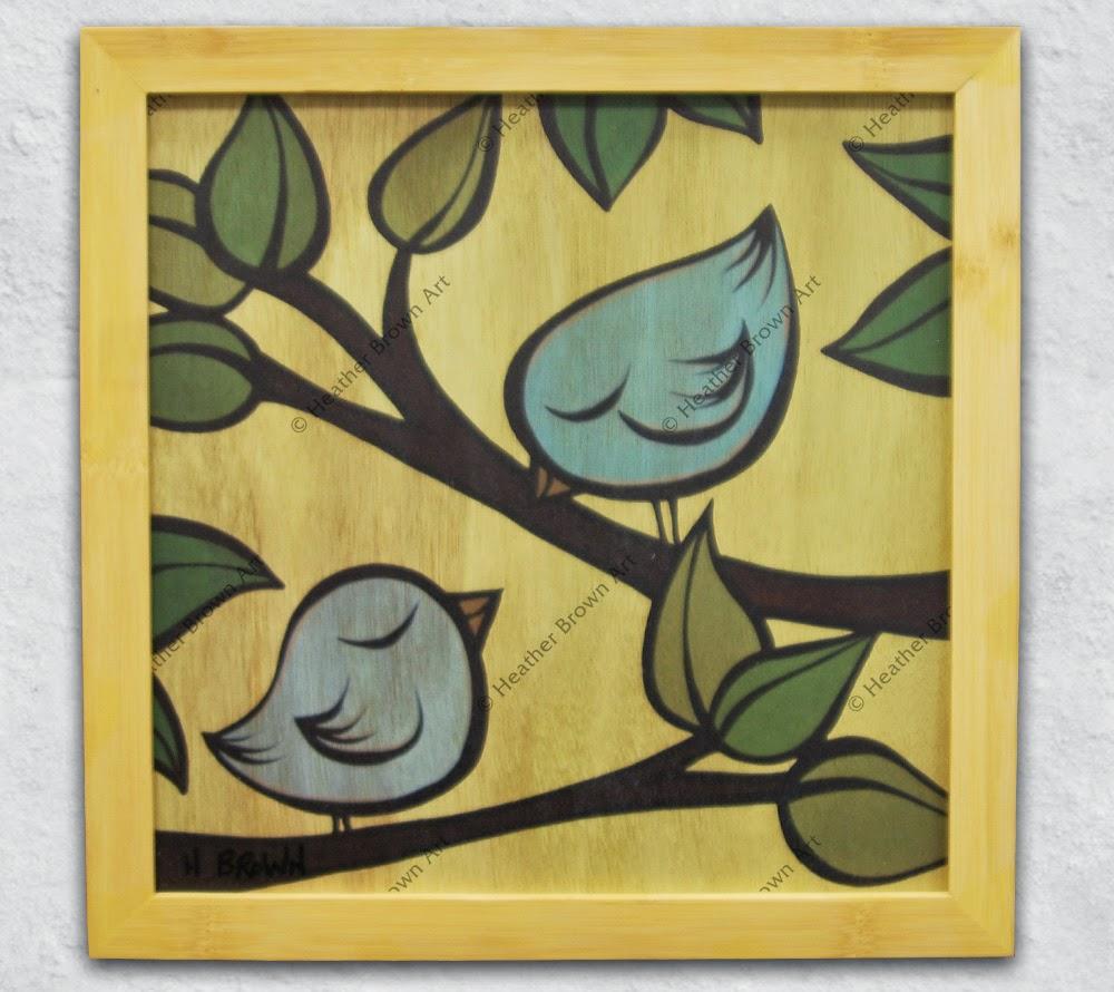 bird art heather brown