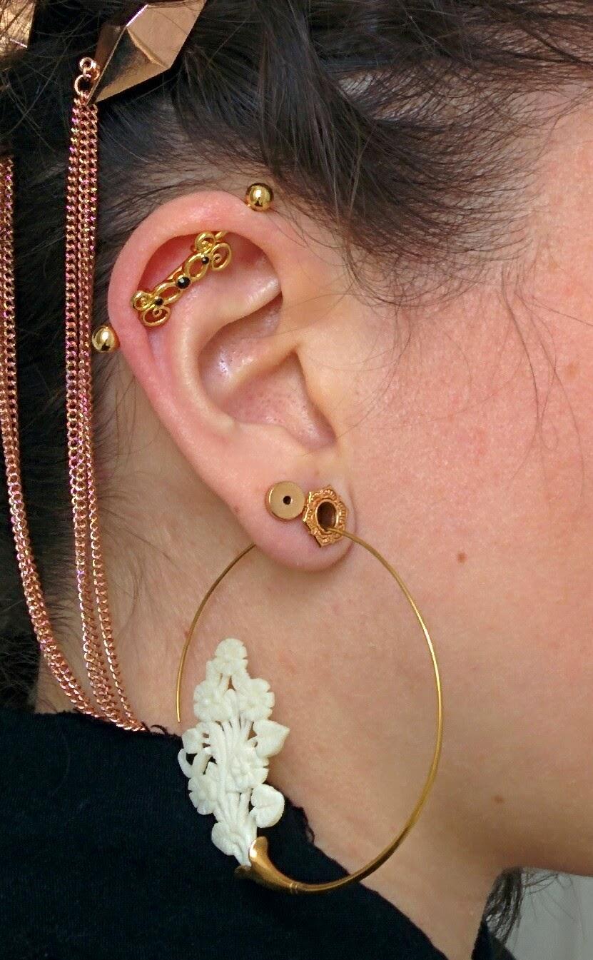 The Mutant Stomp Friends: Industrial bar earring haul