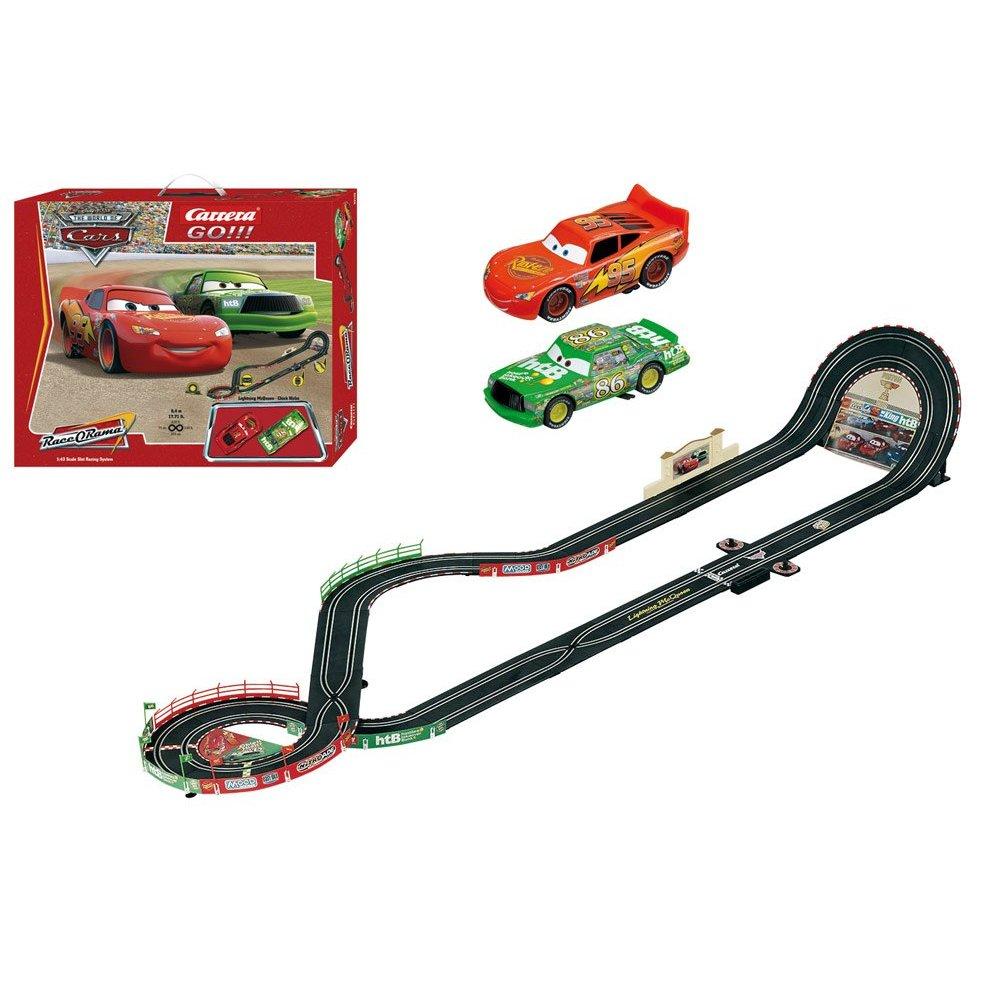 Toys For Trucks Green Bay : Carrera go quot disney cars slot race car set off