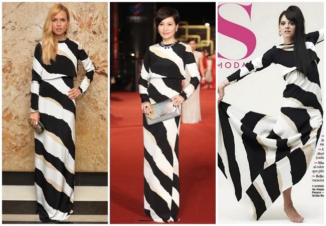 2014金鐘獎:方芳芳撞衫 Lily Allen、Rachel Zoe、Camilla Belle、Sonam Kapoor