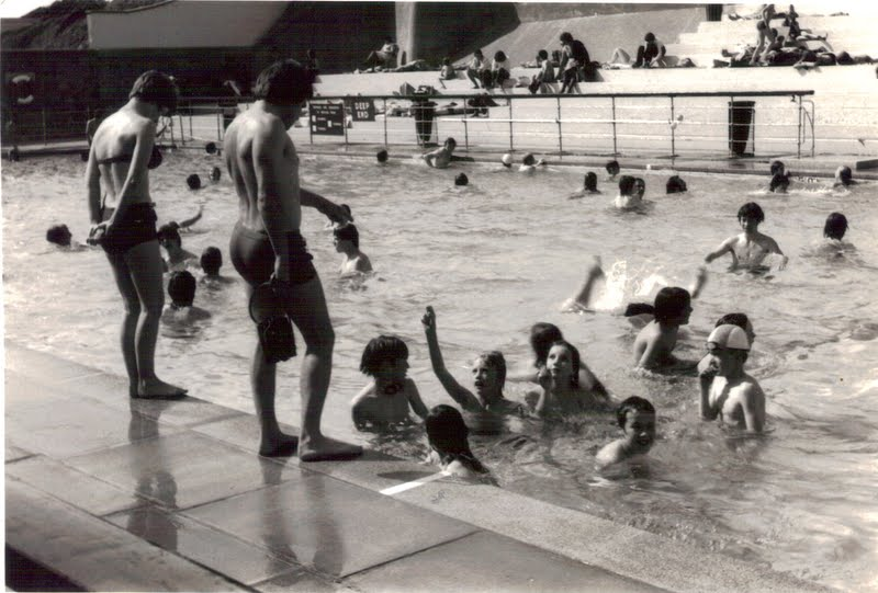 Newbold verdon primary school clevedon trip may 1977 - Open air swimming pool portishead ...