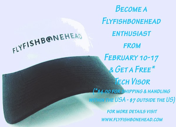 Flyfishbonehead tech visor is awesome.  check out the fly tying videos, technical gear and saltwater flies at flyfishbonehead.  We also make tail fly fishing magazine too