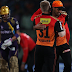 IPL T20 today SRH vs KKR match was very exciting and SRH defeat KKR after d/l method