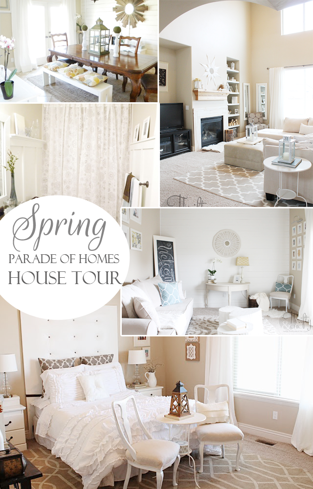 Spring house tour via Thrifty and Chic