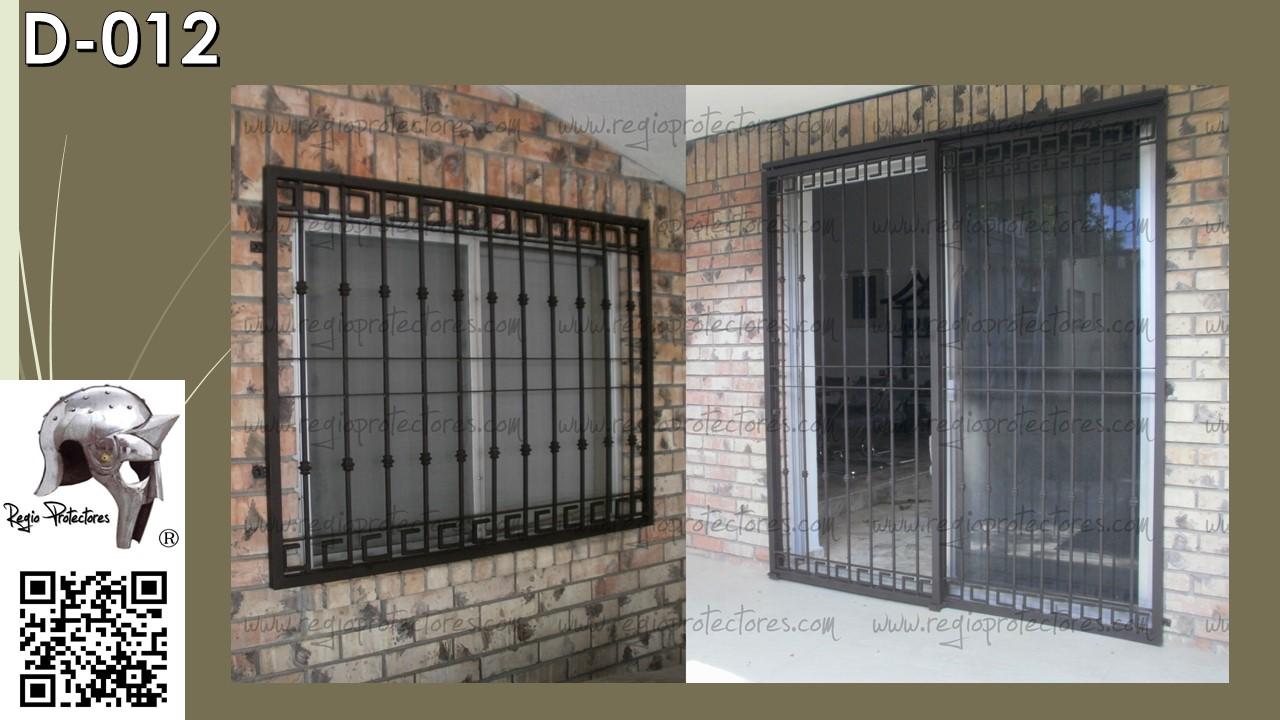 Protectores para ventanas puertas principales portones y for Puertas principales