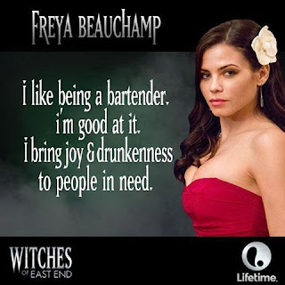 Freya Beauchamp from Witches of East End