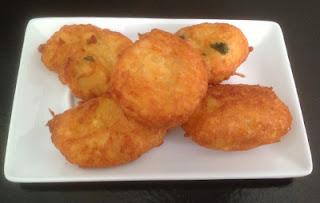Buñuelos de patatas del puchero