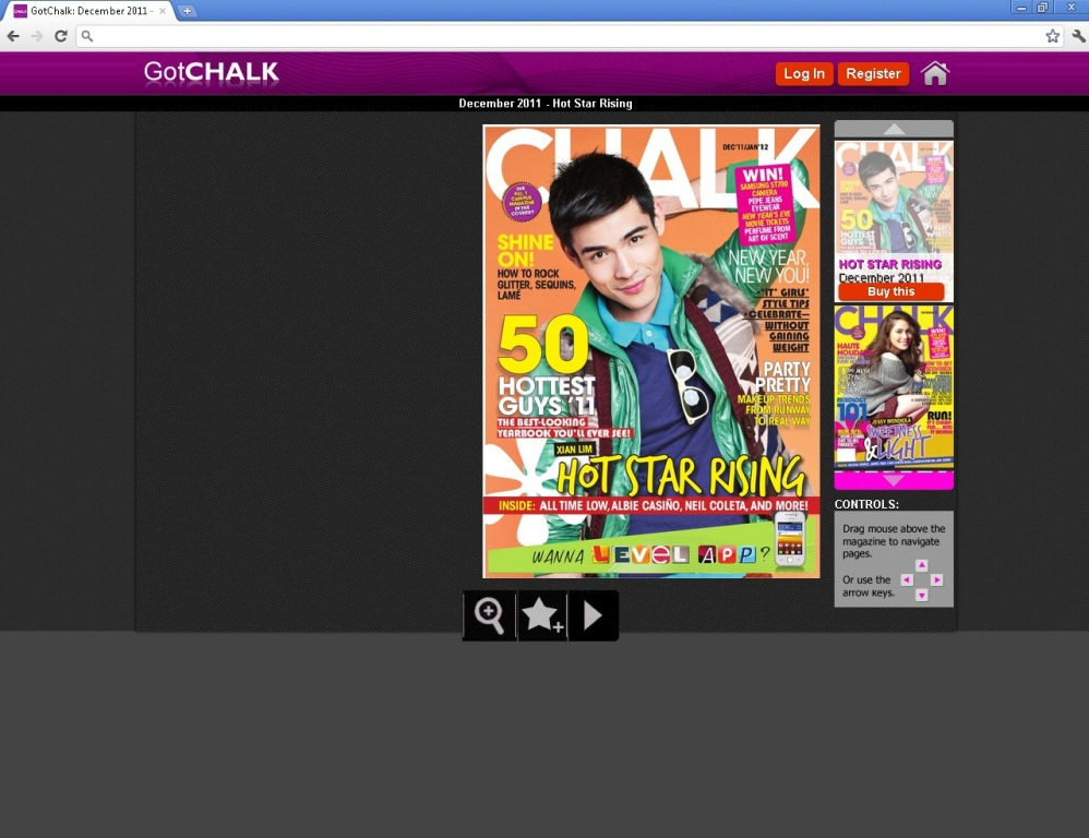 iWantTV for Philippine-based users, and via TFCNow ! for global users