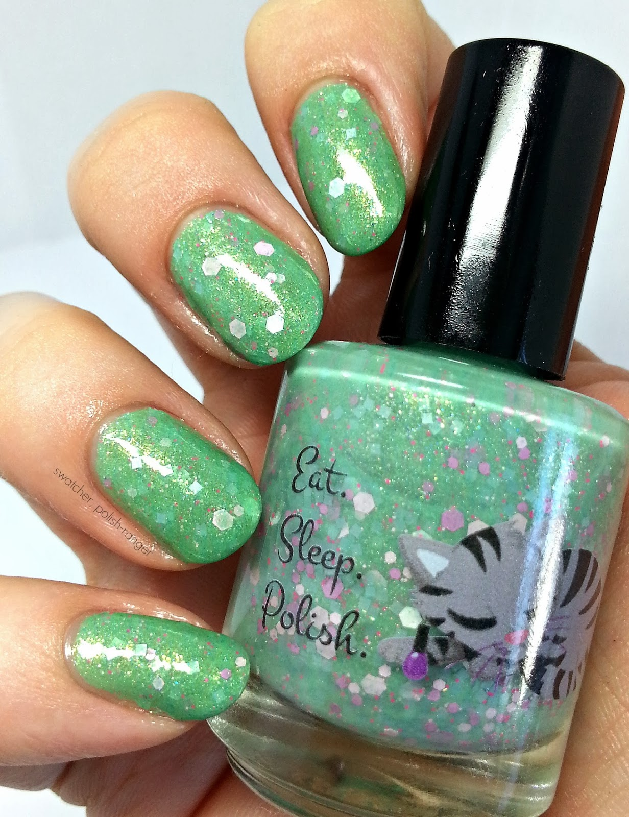 Eat Sleep Polish Grasshoppa swatch