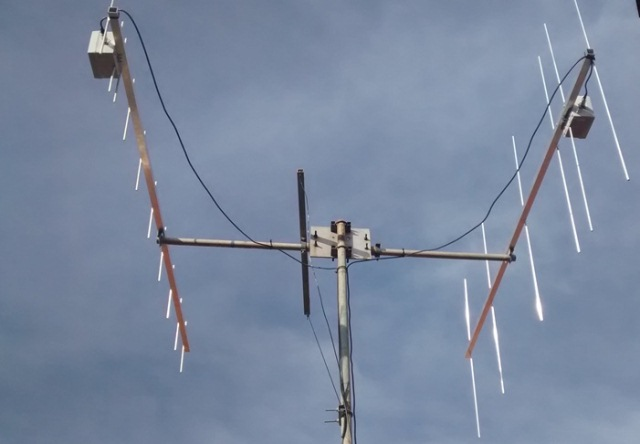New Antennas Yagi - 10 UHF & 6 VHF (DK7ZB-Design)
