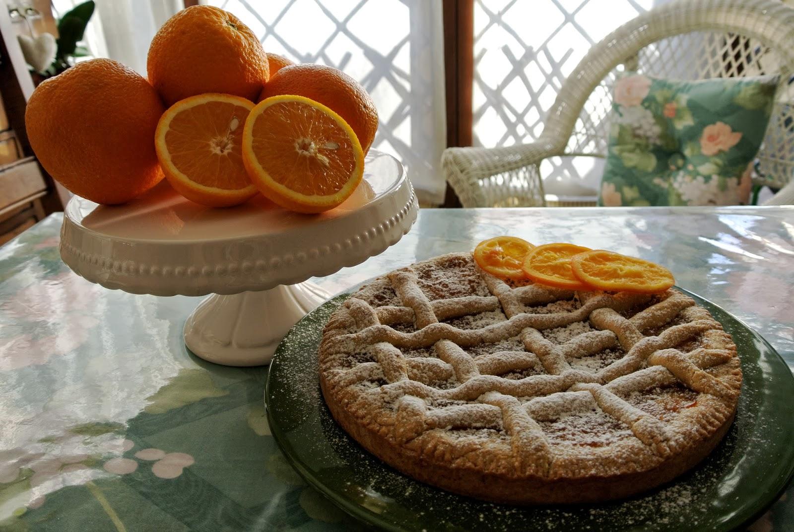 marmellata di arance e farine d'avena e farro